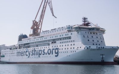 Mercy Ships announces its second hospital ship: The Global Mercy