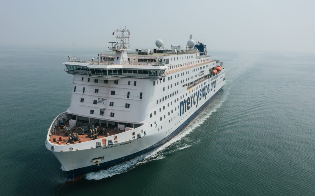 New Mercy Ship, the Global Mercy™, Ready to Sail Around the Globe