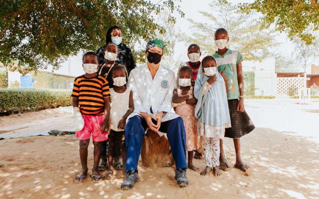 Dr. Tertius Venter Serves at CURE Niger Hospital as Part of Mercy Ships Collaboration with CURE International