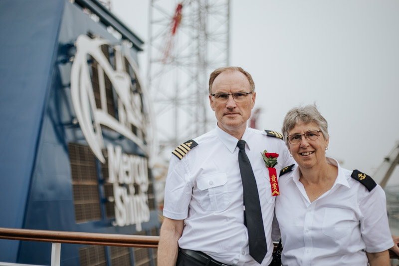Irik Mallie Starts a New Journey and Makes His Mark as Chief Engineer of the Global Mercy