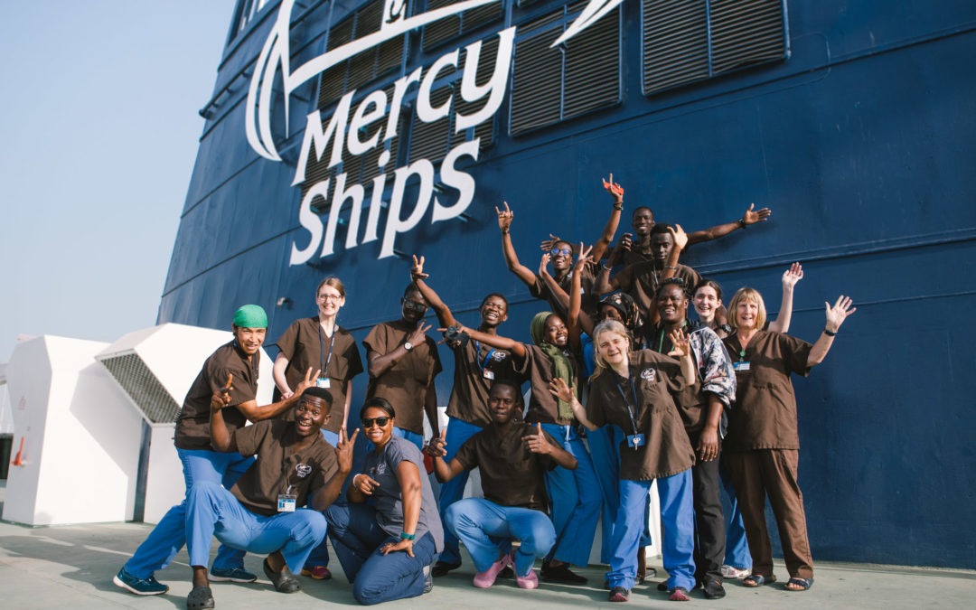 Transforming Lives in their Own Countries: Meet the Mercy Ships Local Crew
